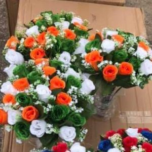 irish colours artificial flowers