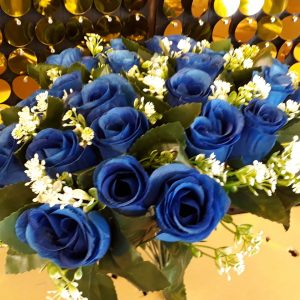 Bunch Royal Blue Artificial Flowers